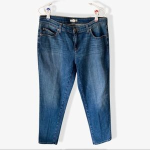 Eileen Fisher High Waisted Skinny Jeans sz 10
